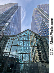 Corporate Building - Corporate building. The view of the...