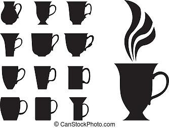 Big tea cups