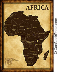 Map of Africa