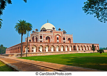 Humayuns Tomb in Delhi - India, Delhi, Humayuns Tomb, built...