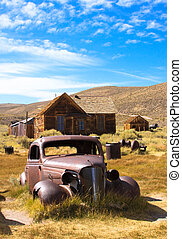 Vintage Car and Home