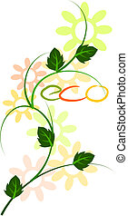 Ecological mechanism - vector - Colorful beauty eco...