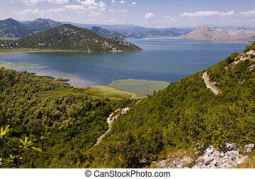 Skadarsko lake. Balkans - Montenegro