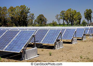 Solar panels - Photovoltaic power plant