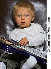 Garçon, Électrique, guitare