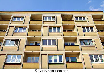 Apartment building - Contemporary residential architecture...