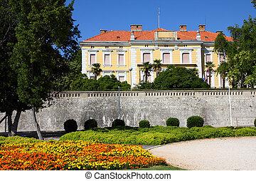 Zadar, Croatia - Croatia - Zadar in Dalmatia Townscape with...