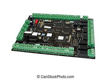 Electronic circuit board. - Electronic circuit board close...