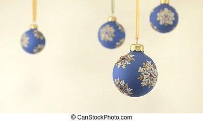 Christmas ball rotation - Happy New Year and Christmas...