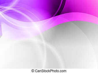 abstract wave backgroun in the purple