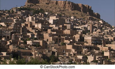 Town of Mardin (Turkey) - WS of arabic town.
