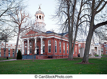 Old courthouse in Leesburg VA - Old brick court house in...