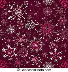 Christmas purple pattern (seamless)