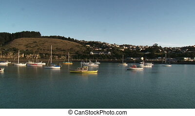 Oamaru Harbour - Oamaru harbour, renowned for its Blue...