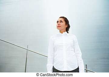 Young Woman Contemplating