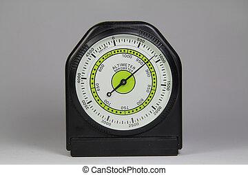 altímetro, Barómetro, blanco, Plano de fondo