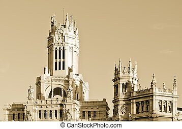 Central Post Office, Madrid, Spain. - Central Post Office...