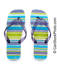 woman shoe isolated - woman shoe for summer and beach...