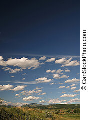 sunny day and dramatic sky... - sunny day and dramatic sky...