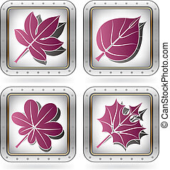 Autumn Leafs - Multiple shape Autumn Leafs part of the 2...