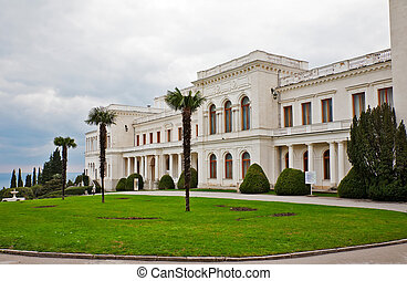Livadia Palace summer retreat of the last Russian tsar,...