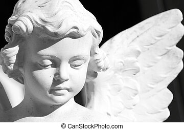 angel  - cemetery angelic sculpture, Italy