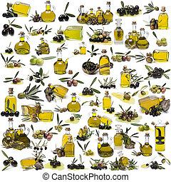 The largest set about olive oil.