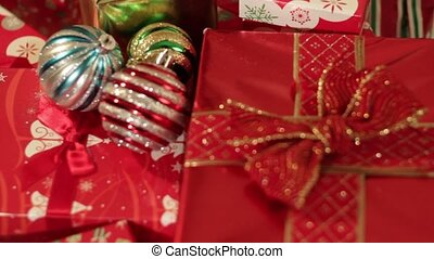 Christmas Gifts under the tree - Christmas gifts and...
