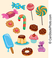 cartoon candy icon