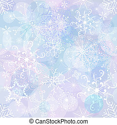 Seamless christmas wallpaper - Seamless gentle christmas...