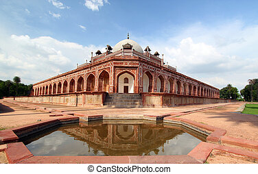 Humayun's Tomb New Delhi - This tomb, built in 1570, is of...