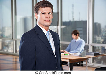 Confident Male Executive - Portrait of confident male...