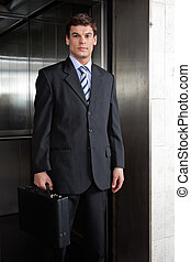 Smart Male Entrepreneur - Portrait of smart male...
