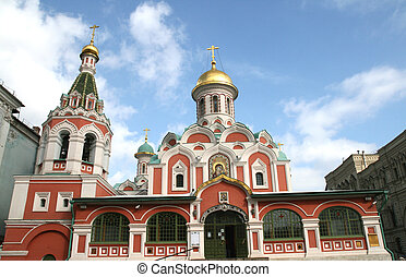 Church at Red Square in Moscow Russia