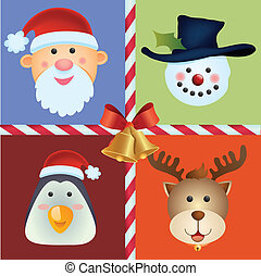 Christmas Icon Ornament - christmas icon background for your...