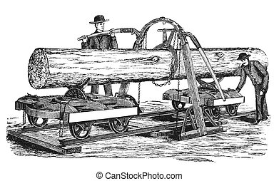 farming - A engraving of agricultural implements taken from...