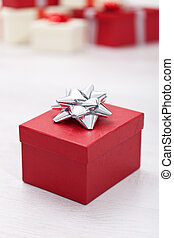 Christmas gift box - Red christmas or other anniversary gift...