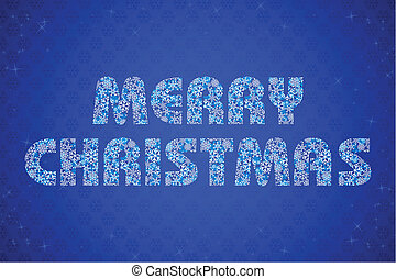 Merry Christmas Text - illustration of merry christmas text...