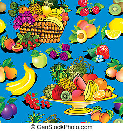 Fruit and berries.