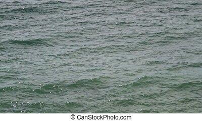 Ocean waves in Salvador de Bahia, Brazil.