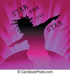 dancing star