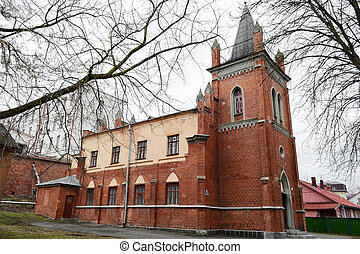 Lutheran Church in Polotsk, Belarus. - View of Lutheran...