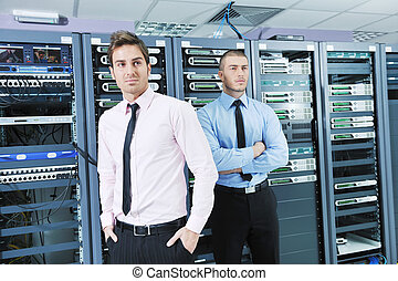 it enineers in network server room