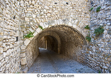 Arch - Viviers is Located in the Department de Ardeche in...