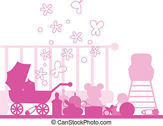 baby arrival and announcements card collection - to be used...