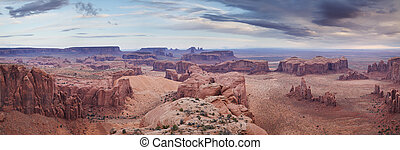 Backdoor to Monument valley