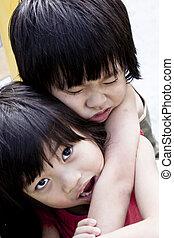 Caring sibling