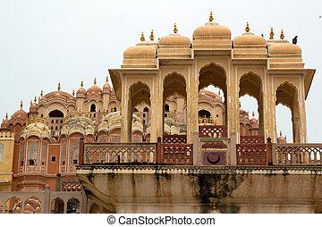 Hawa Mahal,Palace of the Wind,Jaipur India