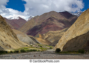 Amazing Himalayan landscape - Amazing mountain landscape...