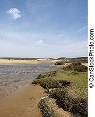 Strand an der Algarve